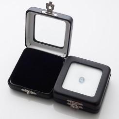 Подарочная коробочка для камней 5.5х5.5 см (искусственная кожа)