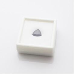 Коробочка для камней 4х4 см (белый пластик)
