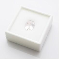 Коробочка для камней 5х5 см (белый пластик)
