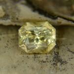 Натуральный цейлонский желтый сапфир, октагон 7,08х5,94 мм, 2,09 карат ($980,00)