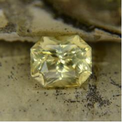 Натуральный цейлонский желтый сапфир, октагон 7,08х5,94 мм, 2,09 карат ($960,00)