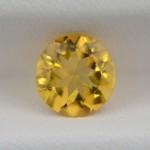 Цитрин круг 8 мм, 1,45 карата ($9,00)
