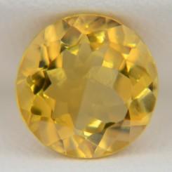 Цитрин круг 10 мм, 3,00 карата ($21,00)