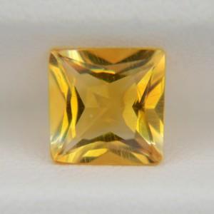 Цитрин квадрат принцесса 8х8 мм, 1,81 карата ($10,00)
