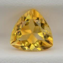 Цитрин триллион 10х10 мм, 3,30 карата ($26,00)