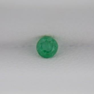 Изумруд круг 3 мм, 0,11 карат ($16,50)