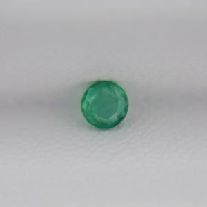 Изумруд круг 3 мм, 0,11 карат ($18,00)