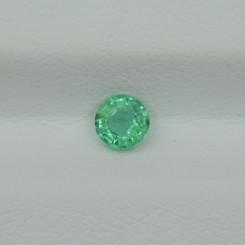 Изумруд круг 4 мм, 0.21 карата ($30,00)