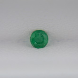 Изумруд круг 3 мм, 0,09 карат ($17,00)