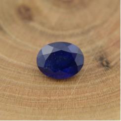 Сапфир синий овал 8х6 мм, 1,62 карат ($73,00)
