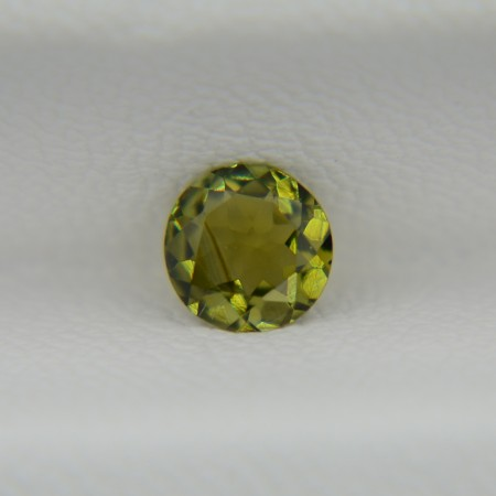 Турмалин зеленый круг 5 мм, 0,35 карата ($19,00)