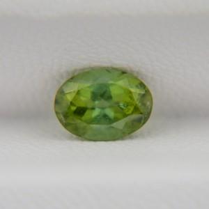 Турмалин зеленый овал 7х5 мм, 0,85 карата ($34,00)