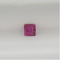 Турмалин розовый квадрат 2,8х2,8 мм, 0,15 карата ($5,00)
