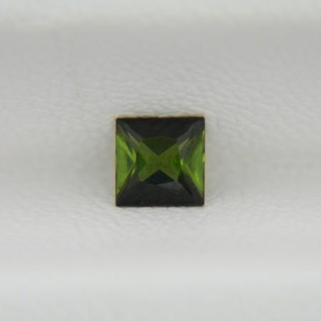 Турмалин верделит квадрат 4х4 мм, 0,35 карата ($18,00)