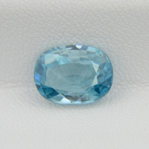 Природный голубой циркон - овал 10,35х7,75 мм, 4,08 карата ($367.00)