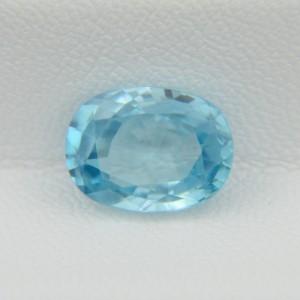 Природный голубой циркон - овал 10,7х7,9 мм, 4,47 карата ($402.00)